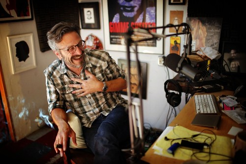 Podcaster in chief: How Marc Maron landed the Obama interview - Los Angeles Times
