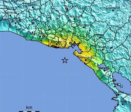 Tsunami warning canceled after 7.4 quake strikes off El Salvador