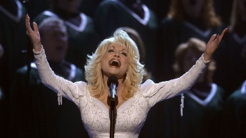Dolly Parton brings her Imagination Library charity to Ireland