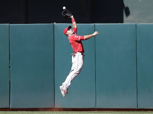 Mike Trout saves Angels from ninth-inning letdown