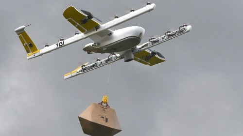 Google offshoot's drone delivery business is cleared for takeoff by FAA