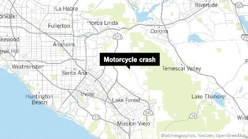 Four killed in Orange County motorcycle crash