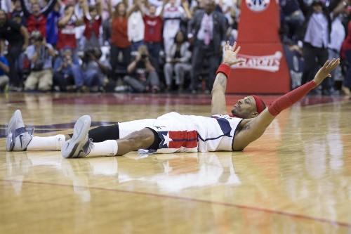 Paul Pierce's buzzer-beater leads Wizards to win over Hawks