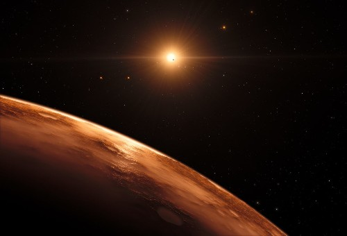 Found: Seven rocky Earth-sized planets in orbit around a nearby star