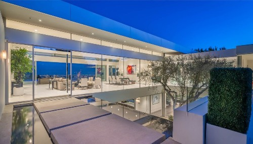 Chinese billionaire Yan Bin brings dramatic Beverly Hills mansion to market for $25 million