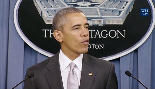 Obama says U.S. hitting Islamic State 'harder than ever'