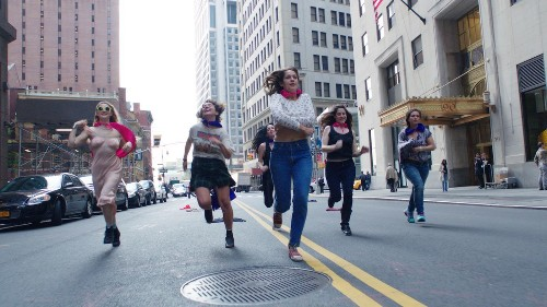 'Free the Nipple' a provocative take on real-life movement