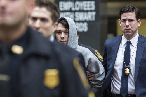 Martin Shkreli was one terrible investor, SEC document shows - Los Angeles Times