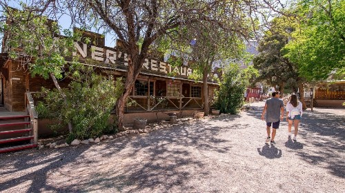 Last call for Las Vegas' Wild West frontier town