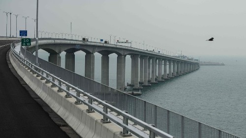 One of the world's longest bridges opens this week, linking Hong Kong and mainland China. That's stirring concern - Los Angeles Times