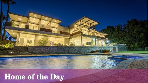 Home of the Day: Life on a grand scale in Pacific Palisades