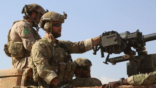 Turkish premier says it's 'unacceptable' for U.S. troops to wear Kurdish insignia