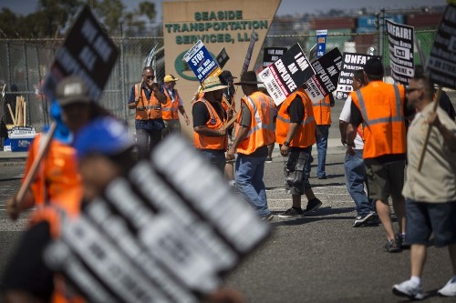 Five-day trucker strike at Los Angeles and Long Beach ports ends