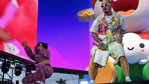 J Balvin led the Latin pop wave at Coachella