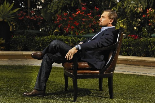 It wasn't always wine, roses and 'Wall Street' for Leonardo DiCaprio - Los Angeles Times