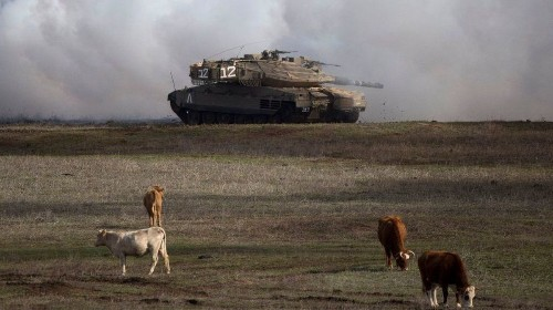Israel didn't 'seize' the Golan Heights. It was won in a war for the country's survival