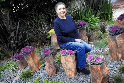 How the drought led an L.A. artist to create this stunning container garden - Los Angeles Times