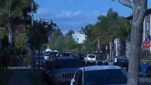 Venice man gunned down on neighborhood sidewalk; 4 shooters sought