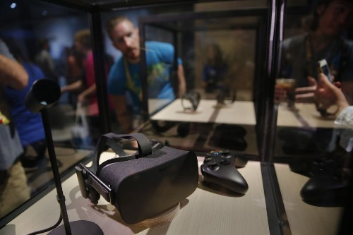 Oculus Rift virtual reality headsets now on sale. Price: $599