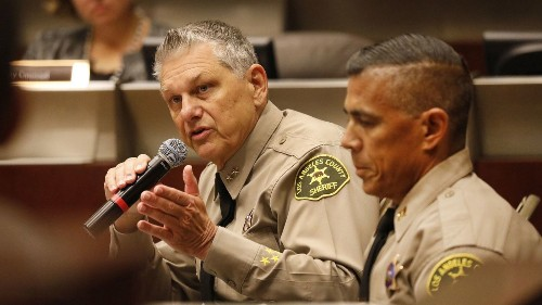 L.A. County sheriff launches 2 reviews of unit that stopped thousands of innocent Latino drivers on 5 Freeway - Los Angeles Times
