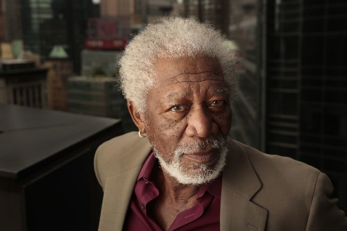 Morgan Freeman, the voice of gravitas, is wise to his image