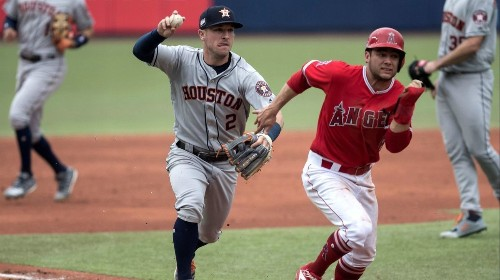 Angels' bullpen falters in a second loss to Astros in Monterrey, Mexico