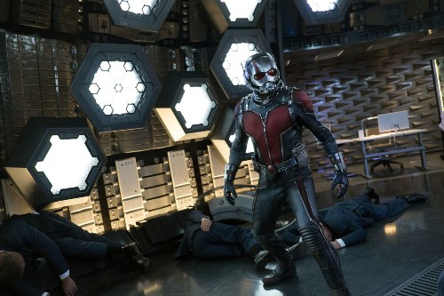 Marvel comes up big with playful 'Ant-Man'