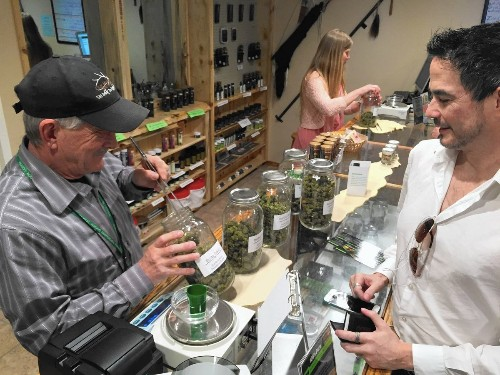 Pot sales healing economic woes of the Colorado town of DeBeque