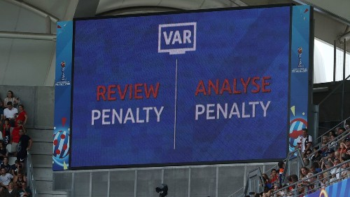 25 of 29 World Cup video reviews have overturned calls on the field