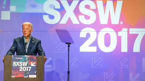 Joe Biden calls for SXSW tech innovators to join 'the only bipartisan thing left in America'