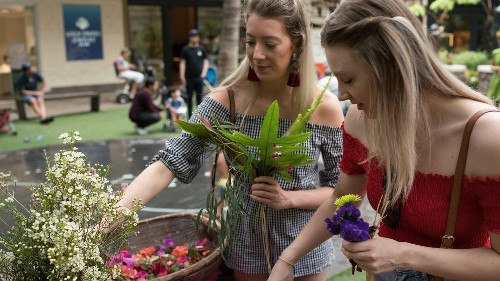 Lei are one of Hawaii's most potent traditions. Learn how to string your own at free classes