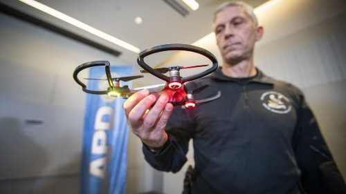LAPD deploys controversial drone for the first time - Los Angeles Times
