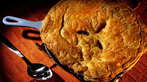 Warm up with this chicken pot pie recipe for dinner tonight