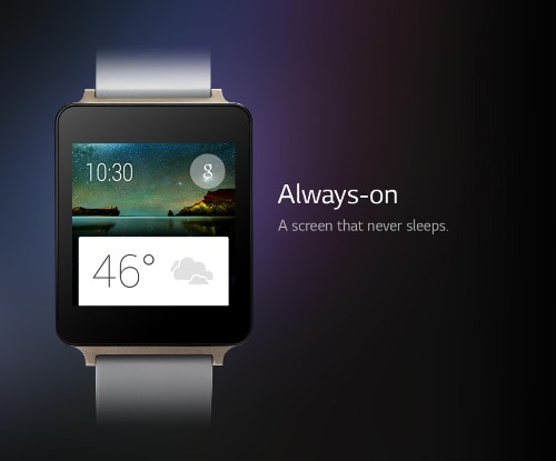 LG's next smartwatch will include a screen that never turns off