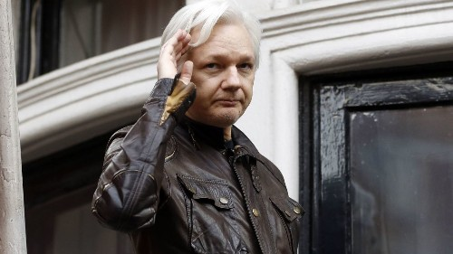 Increasingly frustrated, Ecuador says it's time for Julian Assange to finally leave embassy - Los Angeles Times
