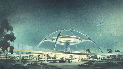 Is LAX's Theme Building coming back to life as part of an on-airport hotel?