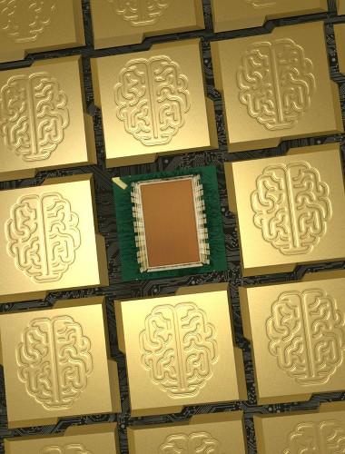 Cognitive computer chip apes brain architecture