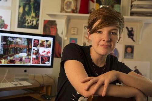 Noelle Stevenson invites everyone into comics - Los Angeles Times