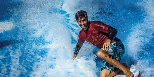 Do some surfing at the new FlowRider at Planet Hollywood Resort