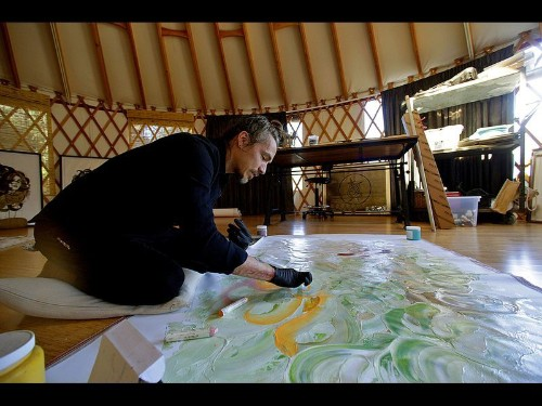Incubus frontman Brandon Boyd finds peace in his yurt