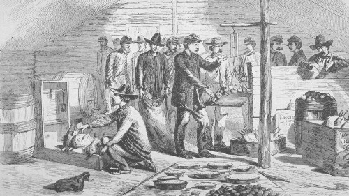 In America, there was a time when even 'Thanksgiving' was a fightin' word