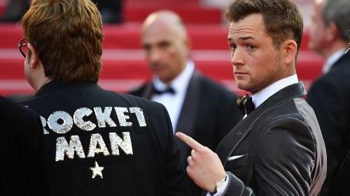 'Rocketman' star Taron Egerton: Don't compare us to 'Bohemian Rhapsody'