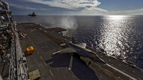 Trump touts $600 million in F-35 savings, an amount similar to a cut that was already planned - Los Angeles Times
