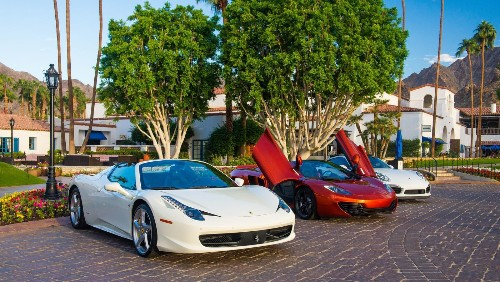 Floor it in a Ferrari with the Waldorf Astoria Driving Experience at La Quinta