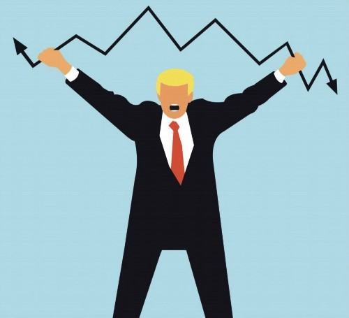 Trump claimed credit for rising stock prices. Now he owns their fall — and a possible recession