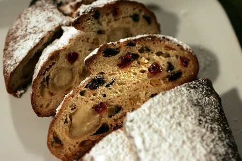 25 homemade holiday gift recipes: Marzipan stollen