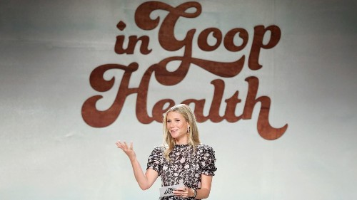 Gwyneth Paltrow's Goop to offer refunds over 'unsubstantiated' claims about health benefits