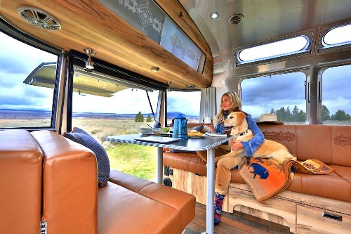 Airstream rolls out $114,600 trailer for national parks centennial. Don't worry, it's still silver