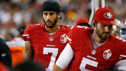 Colin Kaepernick will donate all his proceeds from his surging jersey sales 'back into the communities' - Los Angeles Times