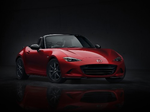 Mazda reveals newest MX-5 Miata, 25 years after original model